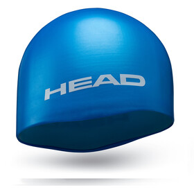 Head Silicone Moulded - Bonnet de bain - bleu
